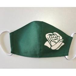 Mascarilla logo verde
